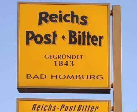 Reichs Post Bitter in Bad Homburg entwickelt wohlduftendes Desinfektionsmittel